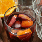 Sangría con Naranja